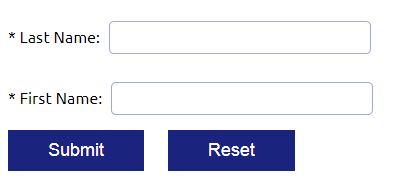 Voter Information Search - Screenshot